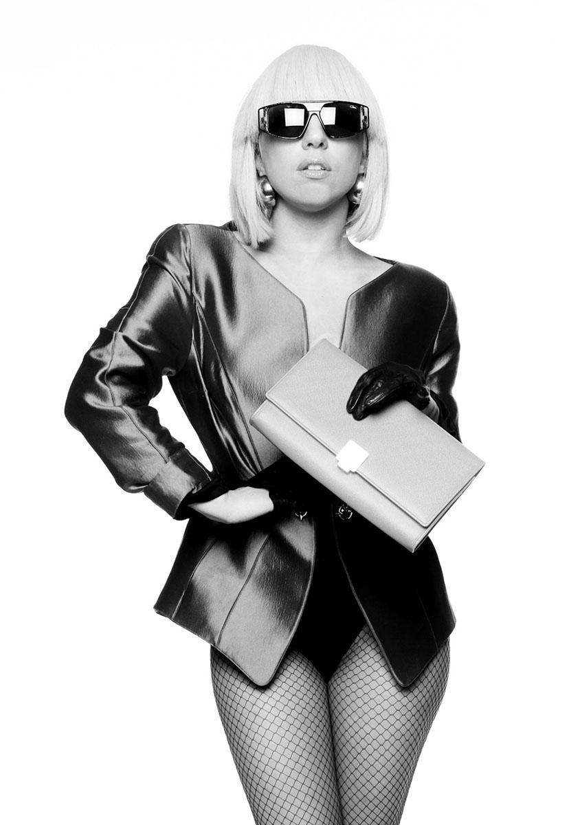 Fotosession mit Lady Gaga