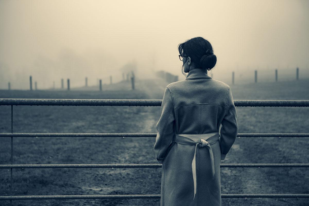 Silvia im Nebel, Mantel von Louloublanche