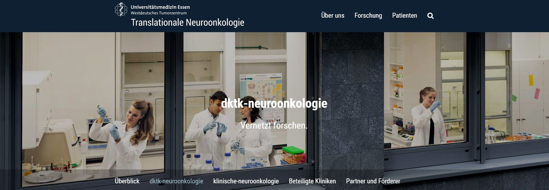Translationale Neuroonkologie,Universitätsmedizin-Essen